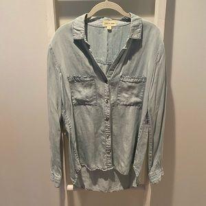 Cloth & Stone Denim Long-sleeve